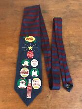 Coca Cola Christmas Theme Collectible Mens Neck Tie