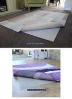 Rug To Hard Wooden Floor & Rug To Carpet Gripper Safe Non Slip Anti Skid Mat