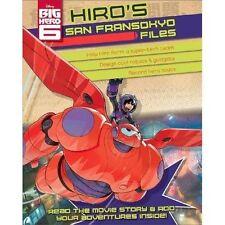 Disney Big Hero 6 Hiro's Superhero Files, New,  Book