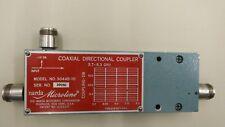 Coaxial Directional Coupler, Narda 3044B-10 dB, 3.7 to 8.3 GHz  N(f)