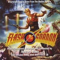 Flash Gordon / Amityville 3-D-Original Soundtracks by Howard Blake (CD)