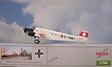 Herpa - 019132 Armée de L'air Junkers Ju-52 Sanitäts-flugbereitschaft