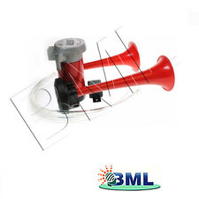 TWIN AIR HORNS AND COMPRESSOR KIT 12V. BRAND- MAYPOLE CODE 896AFD