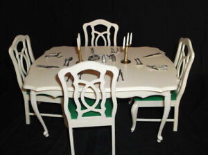 vintage sindys table and chairs 70s/80s
