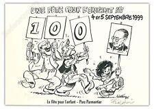 Ex-libris WALTHERY  FETE POUR L'ENFANT PTI BOUT D CHIQUE 99ex signé 21x30