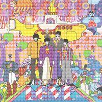 Beatles Yellow Submarine Blotter Art