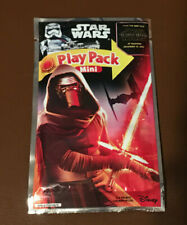 NEW Rare Disney Star Wars Play Pack Mini Coloring Book & Stickers Activity Kit
