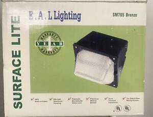 E.A.L. Lighting SM705 Bronze 150W High Pressure Sodium Light~Security Light