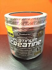 Muscletech PLATINUM 100% CREATINE Micronized 5G Unflavored 80 SERVINGS