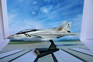 Collectors Grumman F14 Tomcat Diecast Model Aircraft (Open Box Never Displayed)