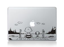 Snoopy Peanuts Watch sunset Sticker Viny Decal Macbook Air/Pro/Retina 13""