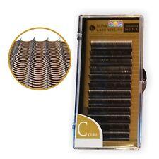 BLINK Mink Lashes Nerzart von 12 mm C- curl 0,25   Einzelwimpern Augen