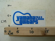 STICKER,DECAL YAMAHA GUITARS FOLK & CLASSIC PRINTED IN JAPAN GITAAR MUSIC BLUE