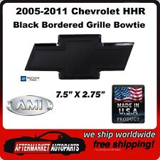 2005-2011 Chevrolet HHR Black Bordered Billet Bowtie Grille Emblem AMI 96002K