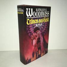 Kathleen E. Woodiwiss TRÄNEN AUS GOLD, roman - 1990 - [ZZ-3183]