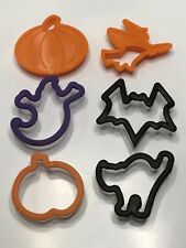 Farberware Cookie Cutters Classic Series 6 Baking Shapes Halloween Witch Pumpkin