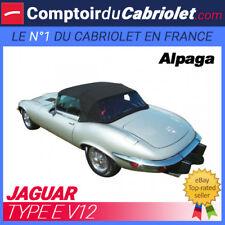 Capote Jaguar Type E V12 cabriolet - Alpaga Stayfast®