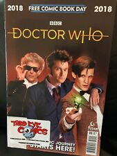 DOCTOR WHO FCBD 2018 FIRST COMIC BOOK APPEARANCE OF 13th DOCTOR NM