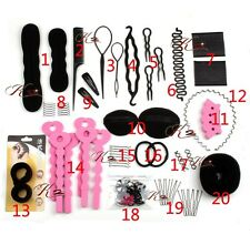 Changeable Multi-functional Hair disk hair accessory kit Hair Tools 1 sets 20