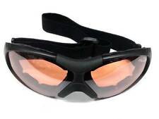 Cycling Airsoft Sport Wind Dust Goggles Glasses Orange