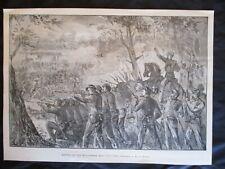 1898 Frank Beard Print of Civil War - The Battle of the Wilderness, Virginia
