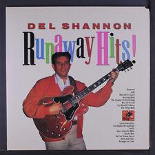 DEL SHANNON: Runaway Hits! LP (gatefold cover, cut corner) Oldies