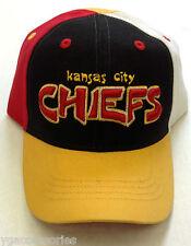 8f4875baee9e1 NFL Kansas City Chiefs Reebok Youth Velcroback Cap Hat READ DESCRIPTION!