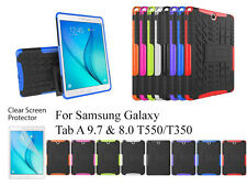 """Heavy Duty with Kickstand case/Screen Protector For Samsung Galaxy Tab A 8""""/9.7"""""""