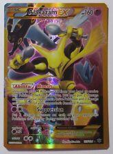 Alakazam ex FULL ART - 125/124 XY Fates Collide - Secret Rare Pokemon Card