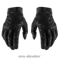 100% Prozent 2019 NEW Ridefit Handschuhe schwarz MTB DH MX BMX Motocross Enduro