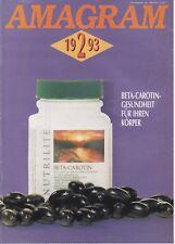 Amagram 2 1993 - Amway-Magazin Deutschland *Beta-Carotin-Gesundheit ...