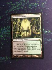 Mtg, Overgrown Tomb. Ravnica: City Of Guilds Rare Dual Land *MP*