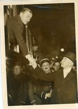 Paul Reynaud, ministre des colonies Vintage silver print Tirage argentique
