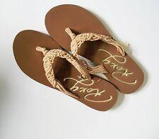 Roxy Womens Guinea Flip Flop Slippers Pink Multi Sz 8 - NWT