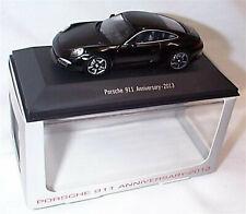 Porsche 911 Anniversary 2013 Black 1:43 Scale New Boxed Porsche 911 Collection