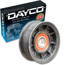 Dayco Drive Belt Idler Pulley for 2002-2011 Honda Civic 2.0L L4 - Tensioner wd