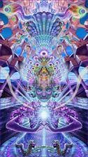 "Psychedelic Trippy Art Silk Cloth Poster 24 x13"" Decor 118"