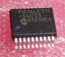 Pic16lc711-04i/ss 8-bit CMOS microcontrollers with A/D converter SMD
