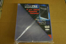 Ultra Pro 9 x 11 magazine top loaders 10 count package #  81192