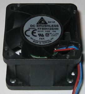 Delta 40 mm x 28 mm High Pressure Fan - 12 V - 24 CFM - 54.5 dBA - 13000 RPM