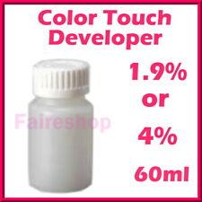 Wella Hair Color Touch Creme Developer Emulsion All Colour Coarse Normal 1.9% 4%