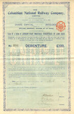 Colombian National Railway > Colombia bond certificate