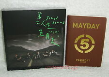 Mayday 8th Album Second Round Taiwan Ltd CD + Passport (Now Where Ver.)