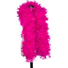 Hot Pink 150 Gram Turkey Feather Boas - Turkey Ruff - Halloween Costumes