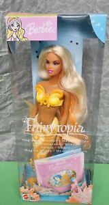 BARBIE CHRISTIE AFRICAN FAIRYTOPIA MAGICA SIRENA Magical mermaid EUROPEAN MATTEL