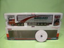 CORGI TOYS MAN TGA CURTAINSIDE - SLOAN TRANSPORT - 1:50 - EXCELLENT  IN BOX