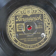 78 rpm CARMEN CAVALLARO malaguena / nostalgias