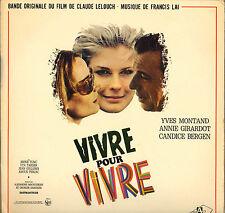 """FRANCIS LAI """"VIVRE POUR VIVRE"""" B.O. FILM 60'S LP POCHETTE SIMPLE !"""