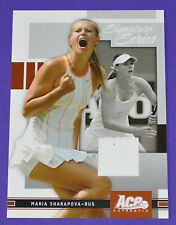 Maria Sharapova ACE Authentic Tennis 2005 Wimbledon MATCH-INDOSSATA Abito SWATCH CARD