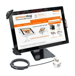 """armourdog® secure flexible security mount for 7.9"""" to 13"""" tablets in black"""